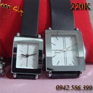 Đồng Hồ Đôi Mặt Vuông Giá 220k/cặp 150k/chiếc