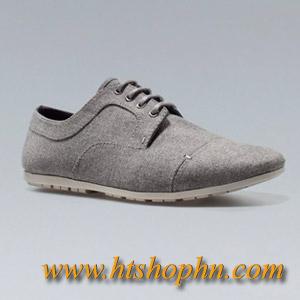 Giày zara xuất khẩu Slim Fabric Blucher Giá 750k lh 0942586399