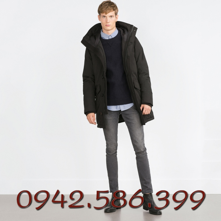 Áo khoác Zara dáng dài