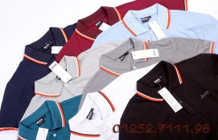 áo thun polo xuất khẩu giá rẻ