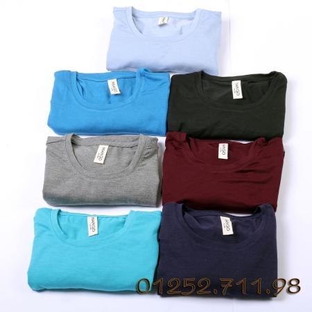 áo phông trơn mango cổ tròn giá thấp chất lượng vải xuất sắc nhất, mẫu mã cạnh tranh