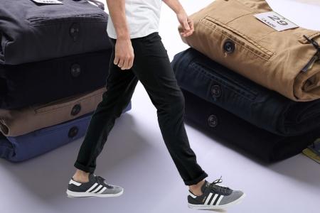 Quần Kaki JULES CHINO STRAIGHT KAKI PANTS chất lượng giá rẻ vải co giãn