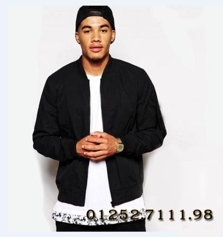 áo bomber chất kaki màu đen ,xanh rêu chất lượng giá rẻ tại hà nội