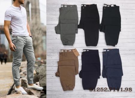 Bán sỉ quần jogger kaki nam hiệu pull and bear chất vải co giãn tốt - Form chuẩn, mặc tôn dáng